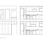 антре, кухня, идеен проект, схема