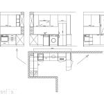 идеен проект, схема, кухня, вградени уреди