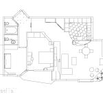 план на апартамент, разположение