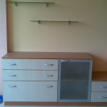 шкафове, спалня красита-17