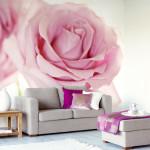 принт за стена-роза