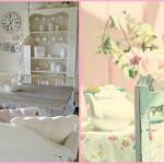 Шаби шик, бяло и розово
