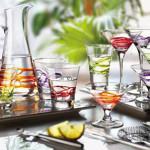 красота, стъкло, цветове на масата