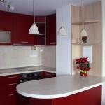 кухня винено червено-1