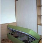 разтегаема спалня, зелена